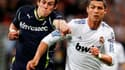 Gareth Bale à la lutte avec Cristiano Ronaldo