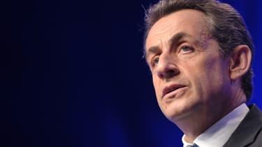L'ancien président français Nicolas Sarkozy