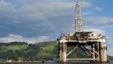 Une plateforme pétrolière à Angra Dos Reis, ville brésilienne de l'Etat de Rio de Janeiro.