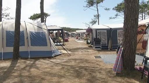 La fréquentation des campings a baissé en juillet