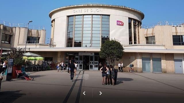 La gare SNCF de Dijon.