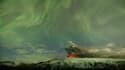 Vue du volcan Eyjafjöll jeudi en Islande. Selon le secrétaire d'Etat au Tourisme, Hervé Novelli, l'Etat a mis des outils à disposition des voyagistes français pour surmonter les difficultés provoquées par le nuage de cendres volcaniques islandais, mais d'