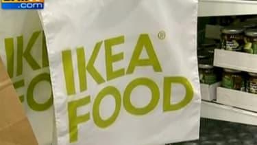 L'alimentation représentait 4,7% du chiffre d'affaires d'Ikea sur 2011-2012