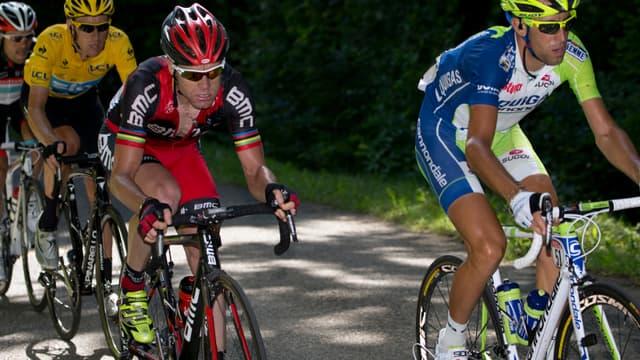 Bradley Wiggins, Cadel Evans et Vincenzo Nibali font relâche avant de s'expliquer dans les Pyrénées