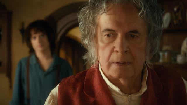 Ian Holm dans Le Hobbit