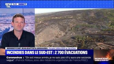 Incendies dans le Sud-Est : 2 700 évacuations (3)  - 05/08