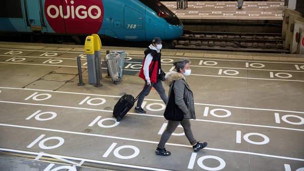 Photo de la gare Montparnasse à Paris le 12 mai 202