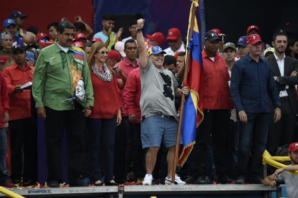 2018 : Maradona soutient Nicolas Maduro