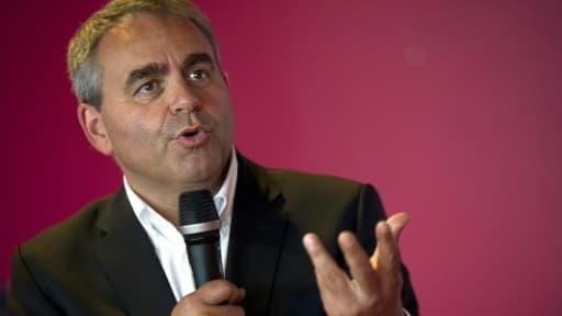 Xavier Bertrand le 11 septembre 2015 à Rouvignies
