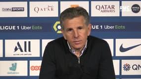 """PSG - Saint-Etienne : """"On a beaucoup trop fêté le premier but"""" regrette Puel"""