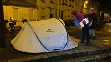 Plus de 3.000 sans-abri avaient été décomptés à Paris lors de la première Nuit de la solidarité l'an dernier.
