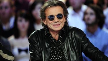 """Philippe Manœuvre sur le plateau du """"Grand journal"""" en 2010"""