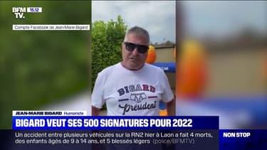 Jean-Marie Bigard veut obtenir les 500 signatures requises pour se présenter en 2022