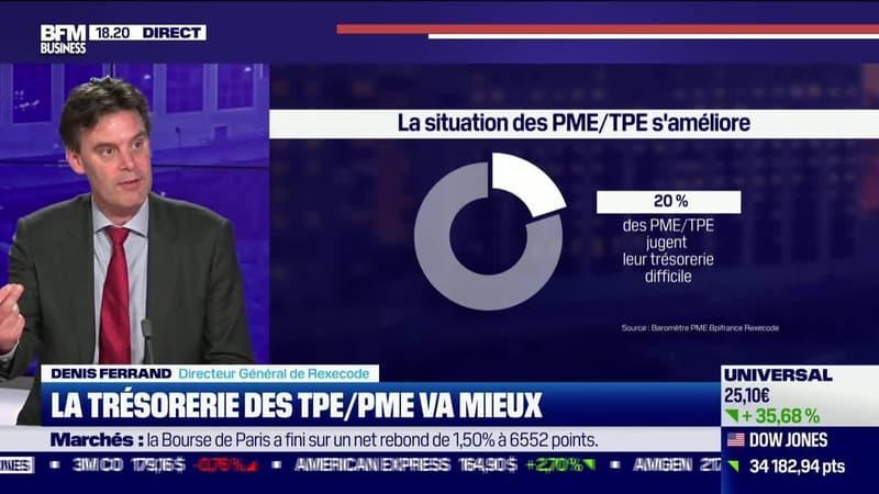 Denis Ferrand (Rexecode) : La trésorerie des TPE/PME va mieux - 21/09