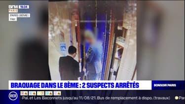 Braquage d'une bijouterie Chaumet à Paris: deux suspects interpellés