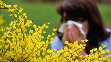 La saison des allergies aux pollens a débuté précocement en 2016. (photo d'illustration)