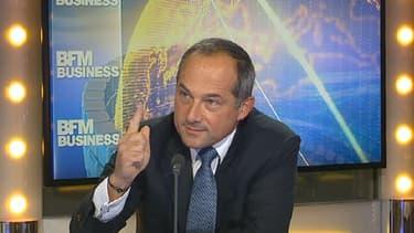 Frédéric Oudéa était l'invité de BFM Business, ce mercredi 13 janvier