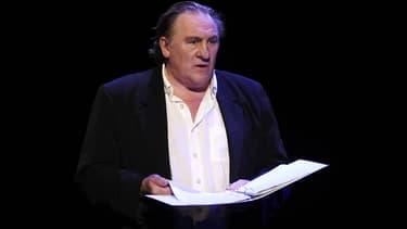 Gérard Depardieu, le 5 octobre 2015
