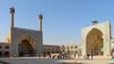 La Grande mosquée d'Ispahan en Iran
