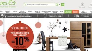 La Camif est devenue une pure player de la vente de meubles.