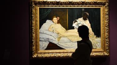 Le tableau de l'Olympia de Manet