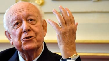 Jean-Claude Gaudin lors d'une conférence de presse ce jeudi 8 novembre à Marseille.