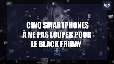 Black Friday: cinq excellents smartphones qui profitent de vraies promos