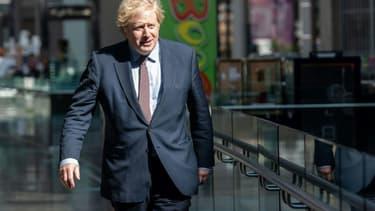 Le Premier ministre britannique Boris Johnson à Londres le 14 juin 2020