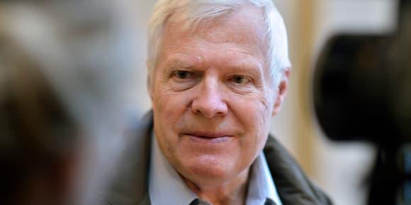 Dieter Krombach, 78 ans, condamné en France à 15 de réclusion criminelle, mais blanchi des mêmes chefs d'inculpation en Allemagne.