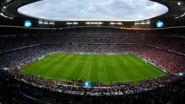 L'Allianz Arena de Munich.