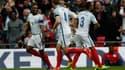 Félicité par ses coéquipiers, Jermain Defoe, pour son premier match avec l'Angleterre depuis 2013, a idéalement lancé sa sélection face à la Lituanie (2-0) dans les éliminatoires pour le Mondial 2018.