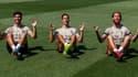Asensio, Vazquez et Ramos imitent la célébration d'Haaland