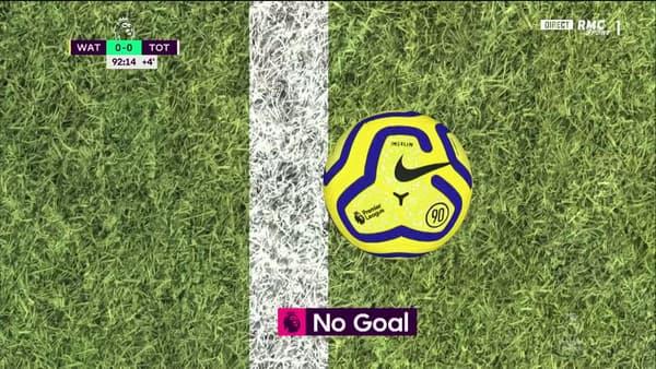 La goal line technology lors de Watford-Tottenham