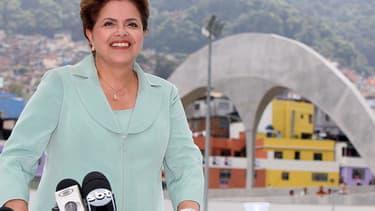Dilma Rousseff dirige le Brésil depuis janvier 2011