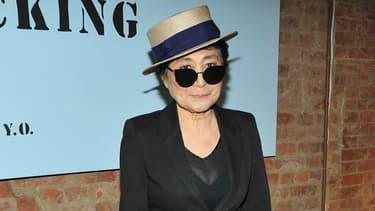 Yoko Ono à ABC en 2013.