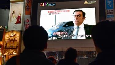 Le puissant patron, qui a été révoqué de Nissan et Mitsubishi Motors mais reste PDG de Renault