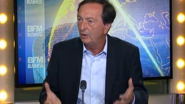 Michel-Edouard Leclerc était l'invité de BFM Business ce mercredi.