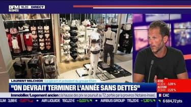 """Laurent Milchior (Etam) : """"On devrait terminer l'année sans dettes"""" - 09/09"""