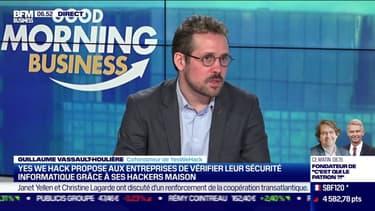 Guillaume Vassault-Houlière (YesWeHack) : YesWeHack, des hackers au service du bien - 17/02