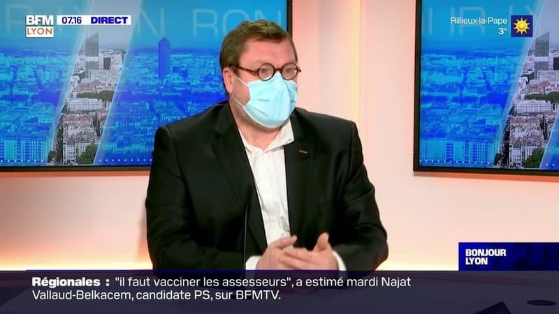 Sébastien Couraud, chef du service pneumologie à l'hôpital Lyon Sud:
