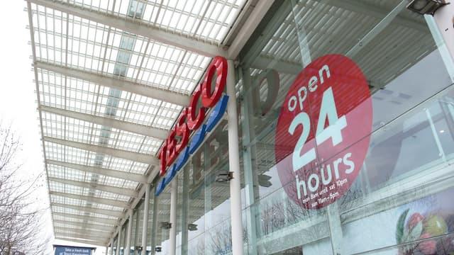 Un supermarché Tesco en Angleterre