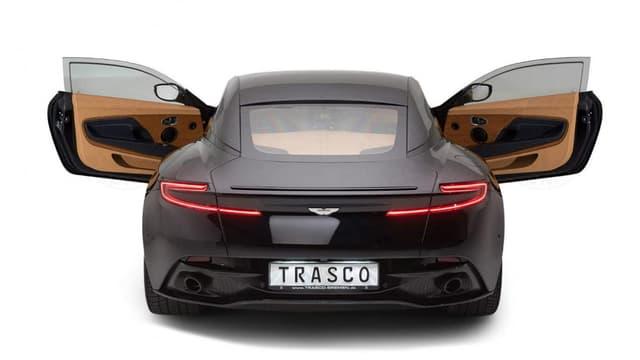 La DB11 blindée, c'est ce que propose l'entreprise allemande Trasco.