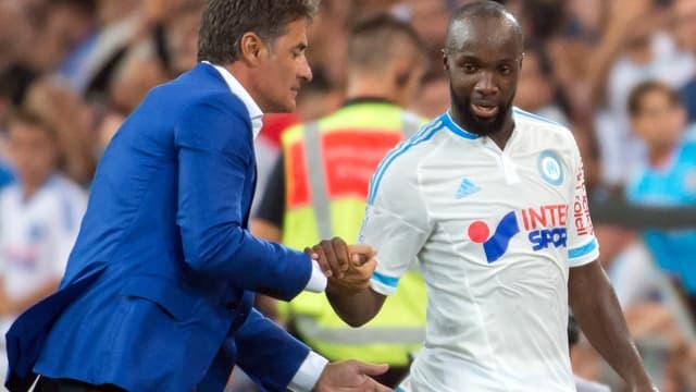 Michel et Lassana Diarra (OM)