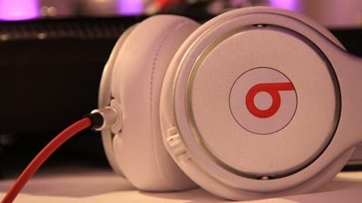 Le casque Beats est censé reproduire la qualité sonore des studios professionnels.