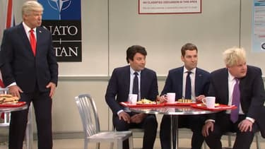 Alec Baldwin, Jimmy Fallon, Paul Rudd et James Corden campent Donald Trump, Justin Trudeau, Emmanuel Macron et James Corden