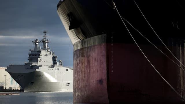 L'exécutif avait promis que le coût total de la non livraison du Mistral s'élèverait à moins de 1 milliard d'euros