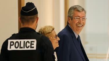 Patrick et Isabelle Balkany au tribunal de Paris, le 13 septembre dernier.