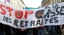 Manifestation à Bordeaux. L'opposition à la réforme des retraites est entrée dans une phase de radicalisation pour tenter de faire plier le gouvernement par le biais de manifestations de masse et de grèves reconductibles. /Photo prise le 12 octobre 2010/R