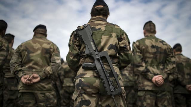 Des militaires au fort de Vincennes en juillet 2016 (image d'illustration)