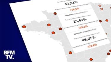 CARTE. Le taux de la taxe foncière a-t-il fortement augmenté dans votre commune en 10 ans ?